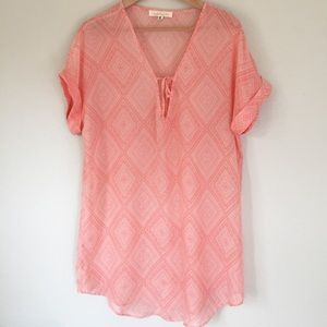 Francesca's Collection | pink lightweight top